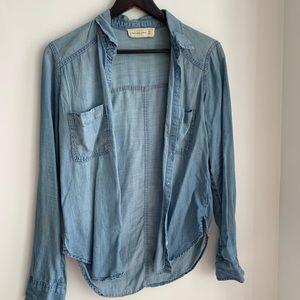 Abercrombie & Fitch Jean Shirt | Size:XS